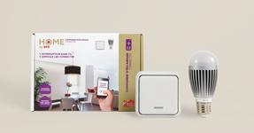 pack comprenant une ampoule connectée et un interrupteur sans fil